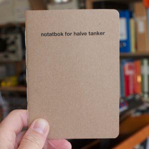 notatbok for halve tanker