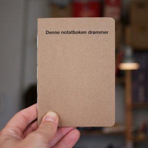 denne notatboken drømmer